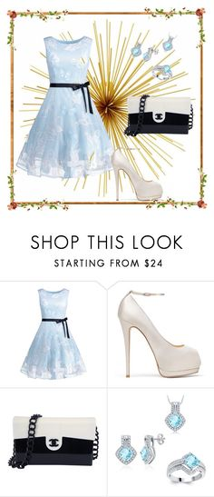 """""""Sin título #60"""" by asl-hada ❤ liked on Polyvore featuring Giuseppe Zanotti, Chanel and DIVINA"""