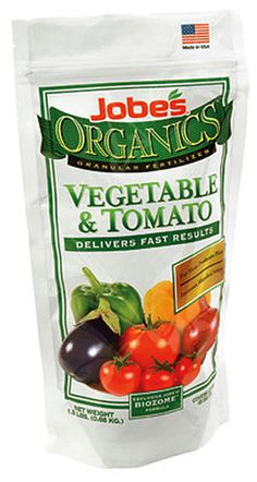 Jobe's Organic Vegetable and Tomato Fertilizer $8.49 - from Well.ca