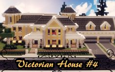 Regal lemon-and-cream Victorian Mansion