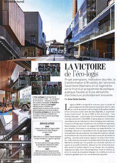 Projet La Savonnerie (Belgique) (Article Marie-Claire Maison) Cecile, Architecture, Times Square, Multi Story Building, Travel, Belgium, Arquitetura, Viajes, Destinations