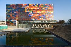 The Netherlands Institute for Sound and Vision, designed by Dutch firm Neutelings Riedijk Architects