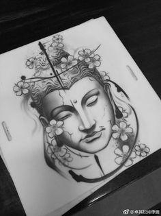 dessins de tatouage 2019 japanese with tattoos - - Tattoo Designs Photo Body Art Tattoos, Small Tattoos, Sleeve Tattoos, Cool Tattoos, Temporary Tattoos, Buddah Sleeve Tattoo, Buddha Lotus Tattoo, Arm Tattoos, Tattoo Ink
