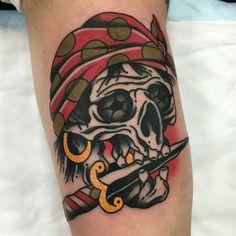 Healed by Aaron Ashworth (at WA Ink Tattoo) Tatting, Skull, School, Inspiring Tattoos, Ink, Bobbin Lace, Needle Tatting, Skulls, Sugar Skull