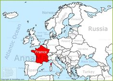 France Map Europe france on the europe map annamap 900 X 643 with Pixels