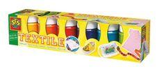 SES creative 00331 - Textilfarben Trendy 6 Farben je 45 ml, 10 eur