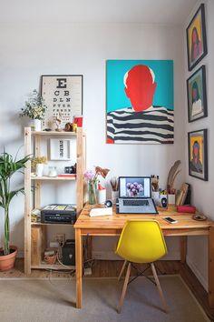 Coco dávez 9 apartment art studio at home, art studios и bedroom art. Home Art Studios, Art Studio At Home, Art Studio Decor, Art Studio Room, Art Studio Design, Artist Studios, Design Room, Design Art, Spanish Style Homes
