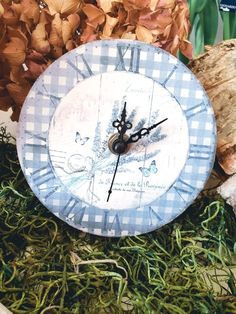 4,95 €  Uhr Shabby, Vintage Stil, Clock, Wall, Home Decor, Cottage Chic, Home Decor Accessories, Homes, Deco