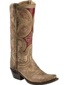 Lucchese Handcrafted 1883 Leila Cowgirl Boots - #CowgirlChic
