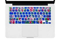 HRH Decal Animal Rainbow Silicone US Keyboard Cover Keypad Skin Protector For Old Macbook Pro 13 15 17 Air 13 Retina Display 13