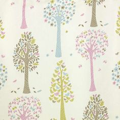 Magic Trees by John Lewis. The sweetest nursery curtains