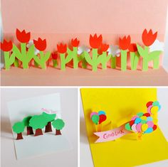 A how-to on crafting handmade pop-up greeting cards.  Customize them to your occasion.