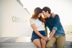 Armina & Elijah's Griffith Park Observatory Astronomy Themed Engagement Shoot | Sweet Little Photographs