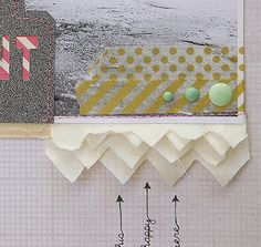 peek of Becky Novacek's project for our upcoming CUT IT OUT class