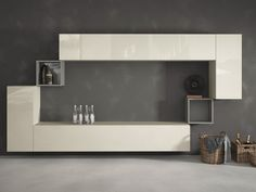 36E8 Mueble modular de pared by Lago diseño Daniele Lago