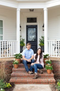 HGTV's Chip and Joanna Gaines discuss their plans to purchase a fixer upper of their own and invite us inside Magnolia House, their new bed and breakfast in Waco, TX.