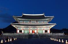 서울 경복궁. Gyeongbokgung Seoul Korea.
