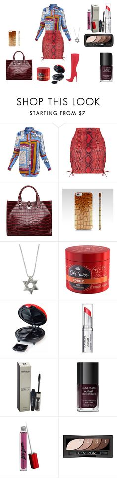 """""""Southern rumba VLIV: look out! It's a python or a crocodile! Help!"""" by naomig-dix ❤ liked on Polyvore featuring Old Spice, Nostalgia Electrics, COVERGIRL and Nemesis"""