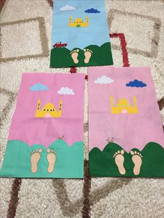 Keçe çocuk seccadesi Ramadan Activities, Ramadan Crafts, Ramadan Decorations, Activities For Kids, Muslim Prayer Rug, Islamic Celebrations, Islam For Kids, Felt Crafts Diy, Islamic Gifts