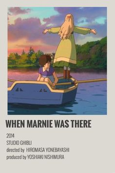 When Marnie was there polaroid poster