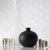 Found it at AllModern - Shape and Form Cubix Geometric Wallpaper