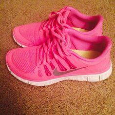 Size 9 women's Nike Frees Like new. Worn a few times. Nike Shoes Sneakers