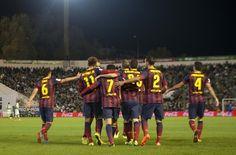 1-4: El Barça golea sin piedad al Betis