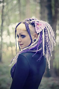 Darkside of Dreadlocks ~ Alternative Dread Fashion One Luv +dreadstop / @DreadStop #dreadlocks