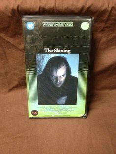 THE SHINING VHS (1981, JACK NICHOLSON, HORROR)