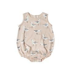 Bubble Onesie - Seagulls by Rylee and Cru in Canada – Bonjour Baby Baskets - Luxury Baby Gifts