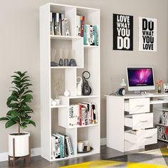 Bedroom Decor Organizer 8 Cube Modern Touch Space Bookcase Storage Living Den