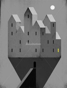 Pawel Jonca, Polish illustrator working with magazines and weeklies