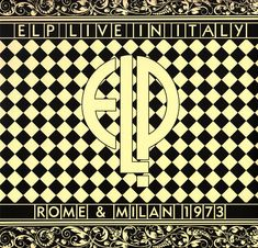Emerson Lake & Palmer - ELP - Live in Italy 1973