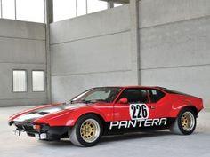 De Tomaso Pantera GTS Rally Car – 1973