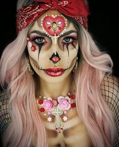 D A D O L L I T A Z #HalloweenMakeup  Be inspirational ❥ Mz. Manerz: Being well dressed is a beautiful form of confidence, happiness & politeness