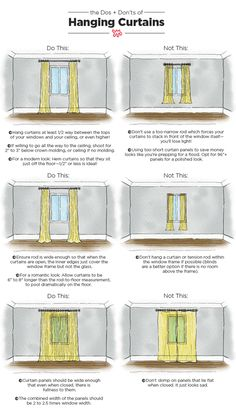 Dos & Don'ts of Hanging Curtains: Tips & Measurements | Apartment Therapy