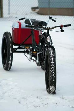 Tandem Fat Bike || via Steven Wilke #fatbike #bicycle