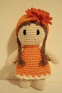 Birth month flower of october - Marigold Genius! Dolls with the color and flower of the month for Birthdays!