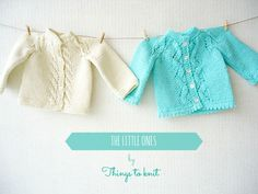Little jackets for babies #knitting