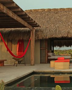 ESCONDIDO HOTEL in Mexico has private cabanas with private pools. Deluxe rooms start at $264 a night, $308 a night with breakfast