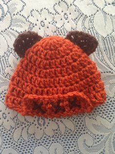 Ewok. Baby hat. This is epic