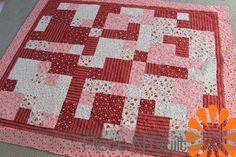 Piece N Quilt: Valentines Day Quilt #quilt #valentinesday