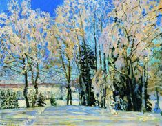 Свежий снег. 1912 - Жуковский Станислав Юлианович