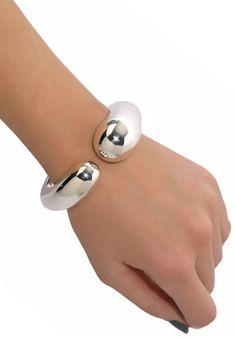 Pomellato 67 Contrarie Silver Cuff Bracelet | Oster Jewelers, Denver Colorado