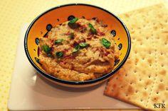 Katrins favoriete recepten: Hummus met zongedroogde tomaten