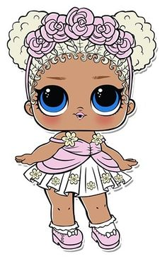 Lol Doll Coloring Pages Elegant Flower Child Series 3 L O L Surprise Doll Coloring Page. Lol Doll Cake, Doll Drawing, Doll Party, Lol Dolls, Kawaii Drawings, Coloring Pages For Kids, Paper Dolls, Baby Dolls, Cartoon