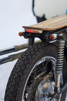 Skateboard as seat! Tail guard as light!!   Entrant #923 - The Deus Boundless Enthusiasm Bike Build Off 2013