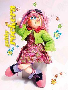 Patrón completo, incluidosel dela ropa, de la alegre y maravillosa, marchosa muñeca Gabby Rockera. Sencillamente divina!!!!   Patrón completo de la muñeca Gabby Rockera:   Muñeca de tela durmiendo, con patronesDIY y patrones de Muñequita articulada de telaHada de algodón, muñeca de telaComo hacer una muñeca de telaPatrón de muñeca de tela con …