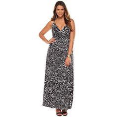 Jennifer Lopez Pebble Empire Maxi Dress - Women's Plus Size