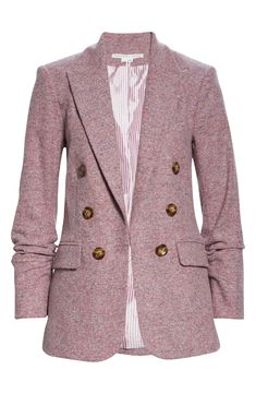 Veronica Beard Beacon Dickey Jacket | Nordstrom Veronica Beard, Wool Suit, Pantone Color, Fashion Outfits, Womens Fashion, Clothing Items, Color Trends, Double Breasted, Nordstrom