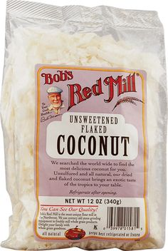 Bobs Red Mill Coconut Flakes Unsweetened -- 12 oz - ONLY $2.54 at Vitacost
